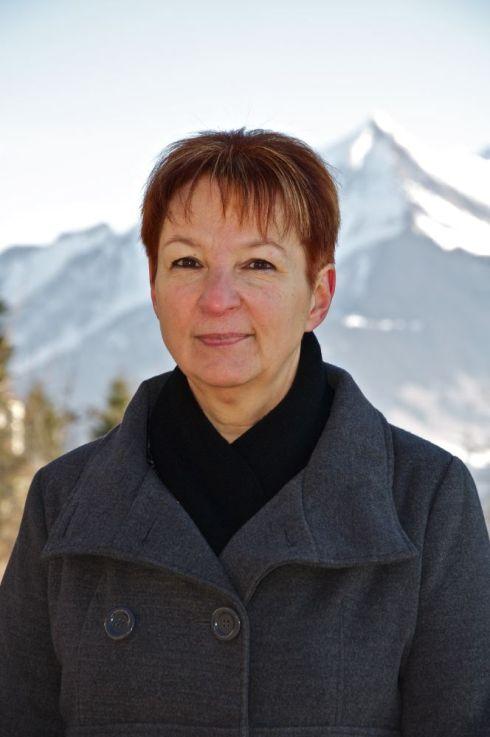 Martine Ruchet à la municipalité de Leysin