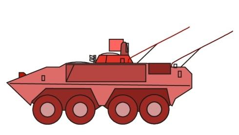 piranha armée suisse char de grenadiers à roues 8x8