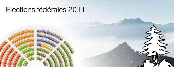 Elections fédérales 2011 Leysin Vaud Suisse