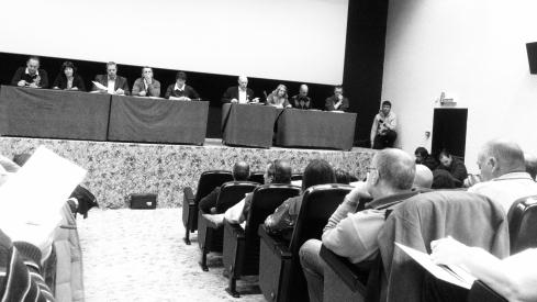 Séance du conseil communal de Leysin au cinéma Le Regency